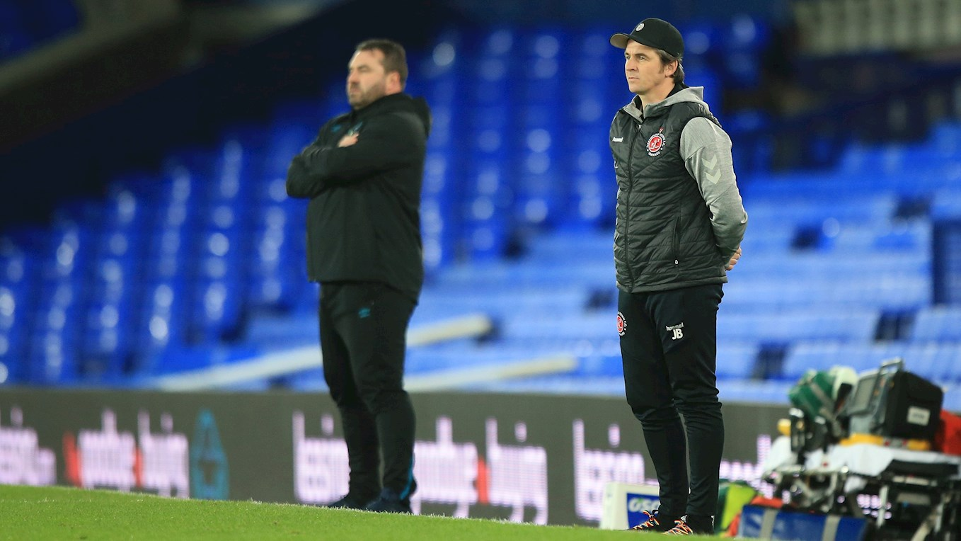 Barton reacts to Leasing.com victory over Everton U21s