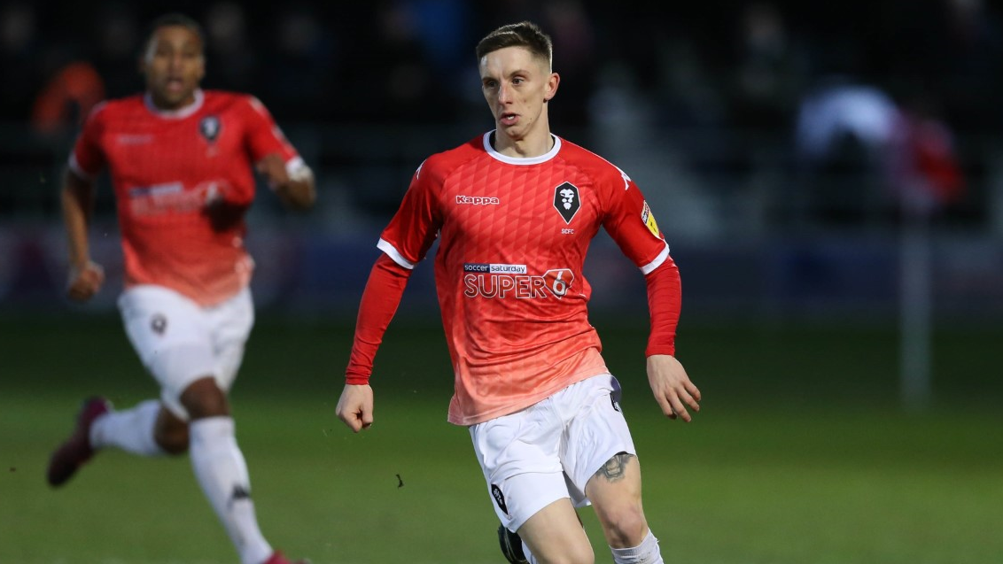 Loan Watch: Hunter makes debut for Salford - News - Fleetwood Town